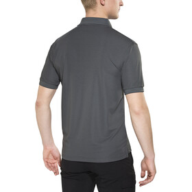 Fjällräven Crowley Polo piqué Homme, mountain grey